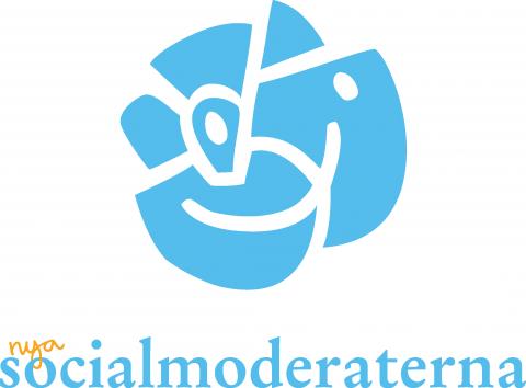Socialmoderaterna – logotypförslag till @socialdemokrat