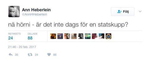 Hejdå @katjanouch – men @annhheberlein kvar, @vikingline_se …